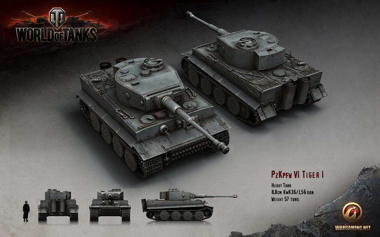 W.tiger World Of Tanks World of Tanks Renders