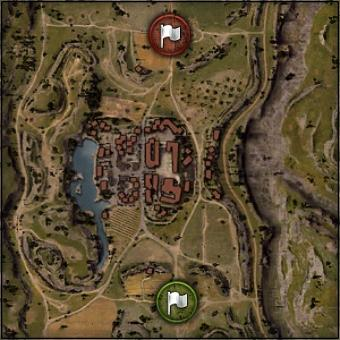 Abbey - Map World of Tanks