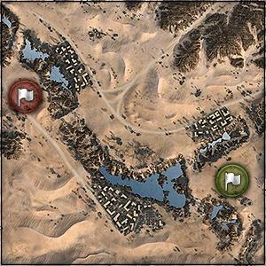Sand River - Map World of Tanks