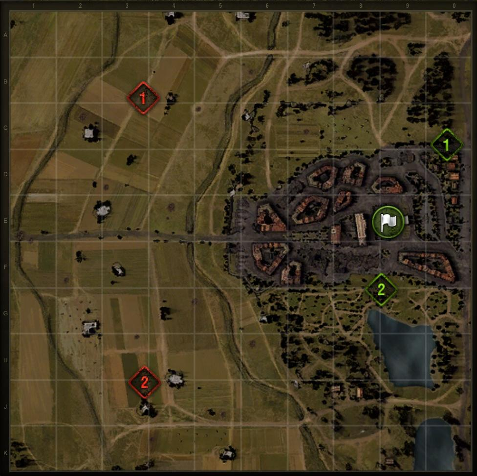 World Of Tanks Map Game Map