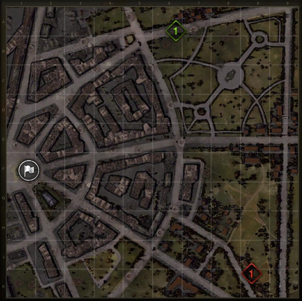 wot как играть на карте руинберг